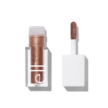Liquid Glitter Eyeshadow, Copper Pop
