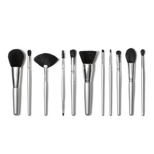 Silver 11 Piece Brush Collection,